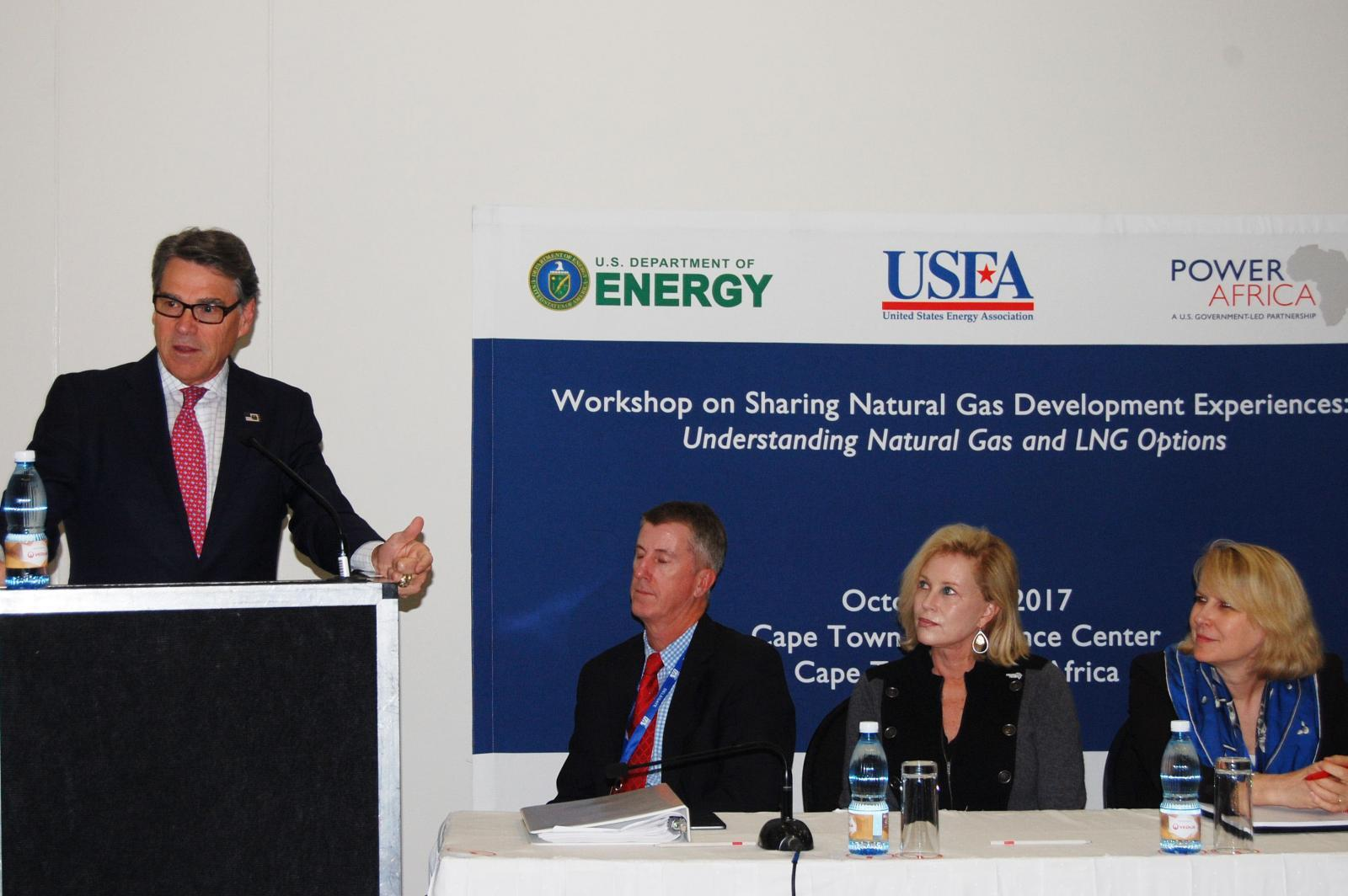 Secretary Rick Perry