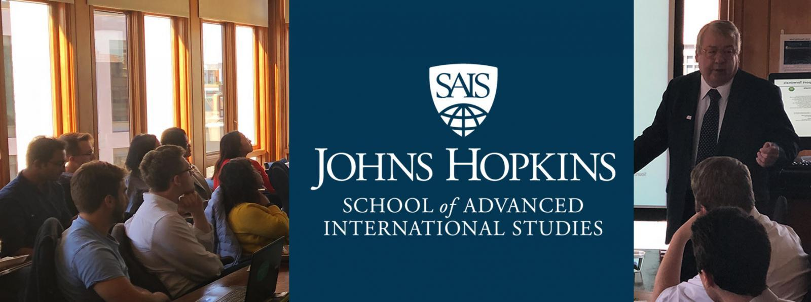 Barry at John Hopkins SAIS