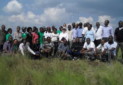 EAGP Capacity Building Program at Menengai Geothermal Field, Kenya.