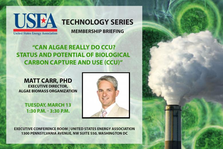 Can Algae Do CCU?