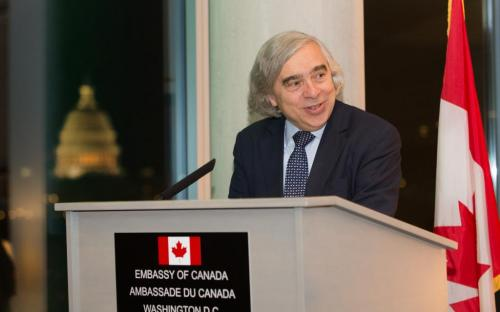 Secretary of Energy Ernest Moniz