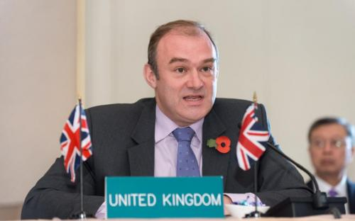 Minister Edward Davey