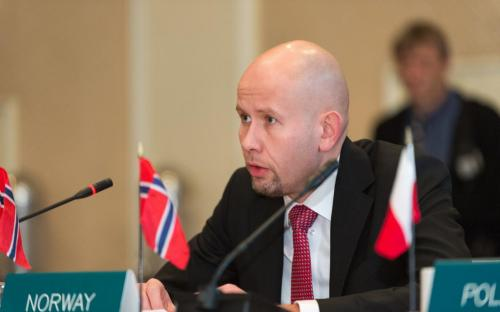 Minister Tord Lein